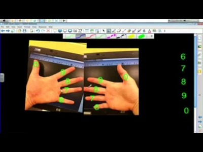 Math Cheats Multiplication with fingers for 6 7 8 9