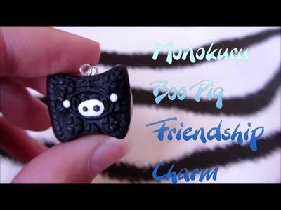 Monokuru Boo Friendship Charm Tutorial: Polymer Clay
