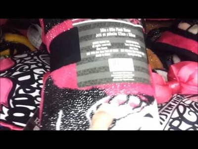 Monster High Sparkle Blanket and Pillow Found at Grocery Store!!!!