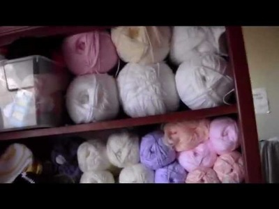 My Yarn stash. I'll show you mine if you show me yours