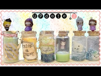 Polymer Clay & Resin Update #2 | The Chibi, Bottles & Metal Charms