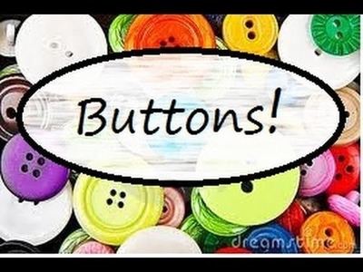 Polymer Clay Button Tutorial!