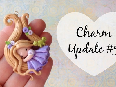♥ Polymer Clay Charm Update #5 + Crafter Features! ♥