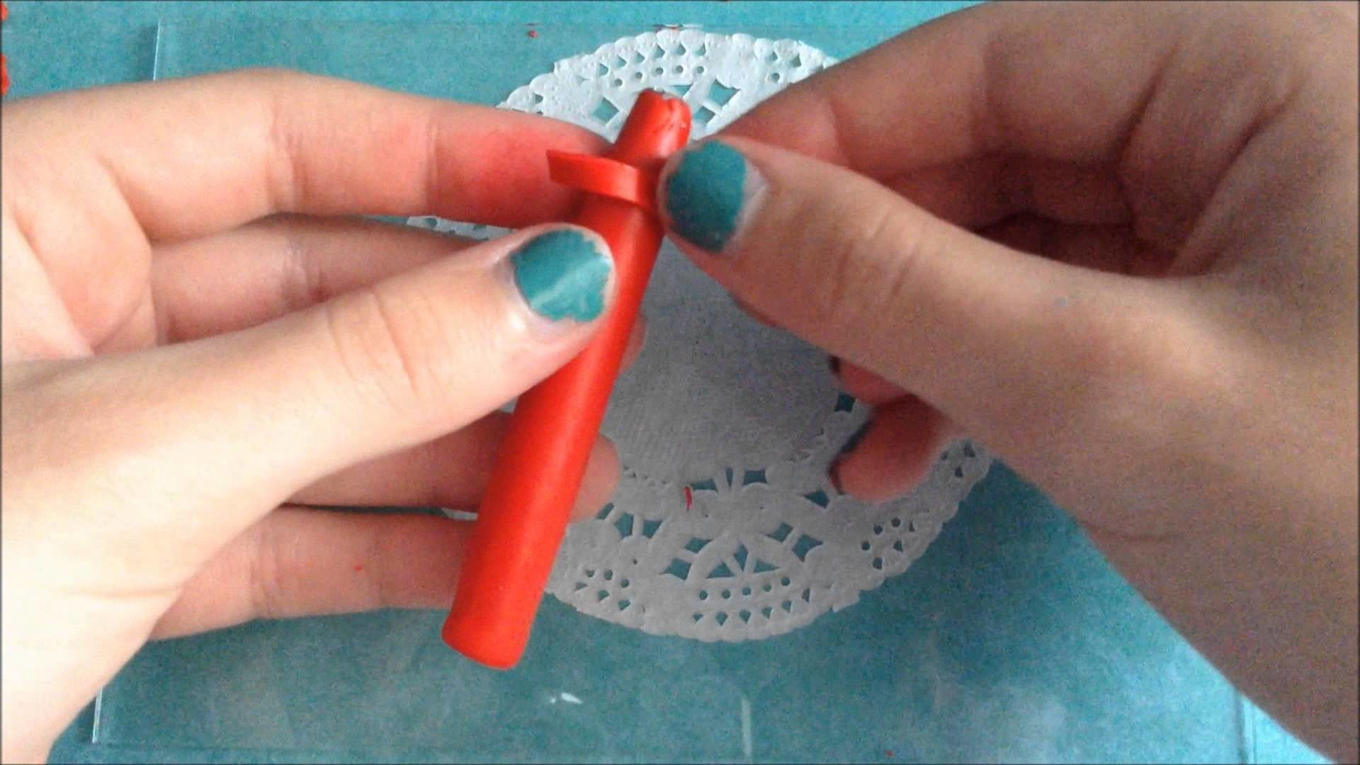 Polymer Clay Crayon Pen Tutorial