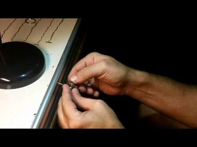 Rock Paracord - How to make an Adjustable Watchband (Adjustable Shackle)