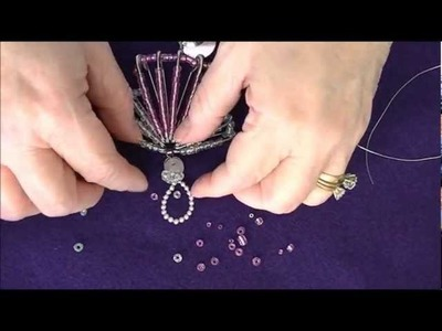 Safety Pin Angel Christmas Ornament Tutorial