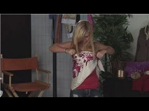 Scarf Fashion Tips : How to Make a Top Out of a Silk Scarf