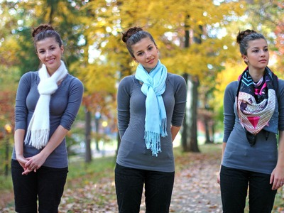 Scarf Tying In 10 Ways