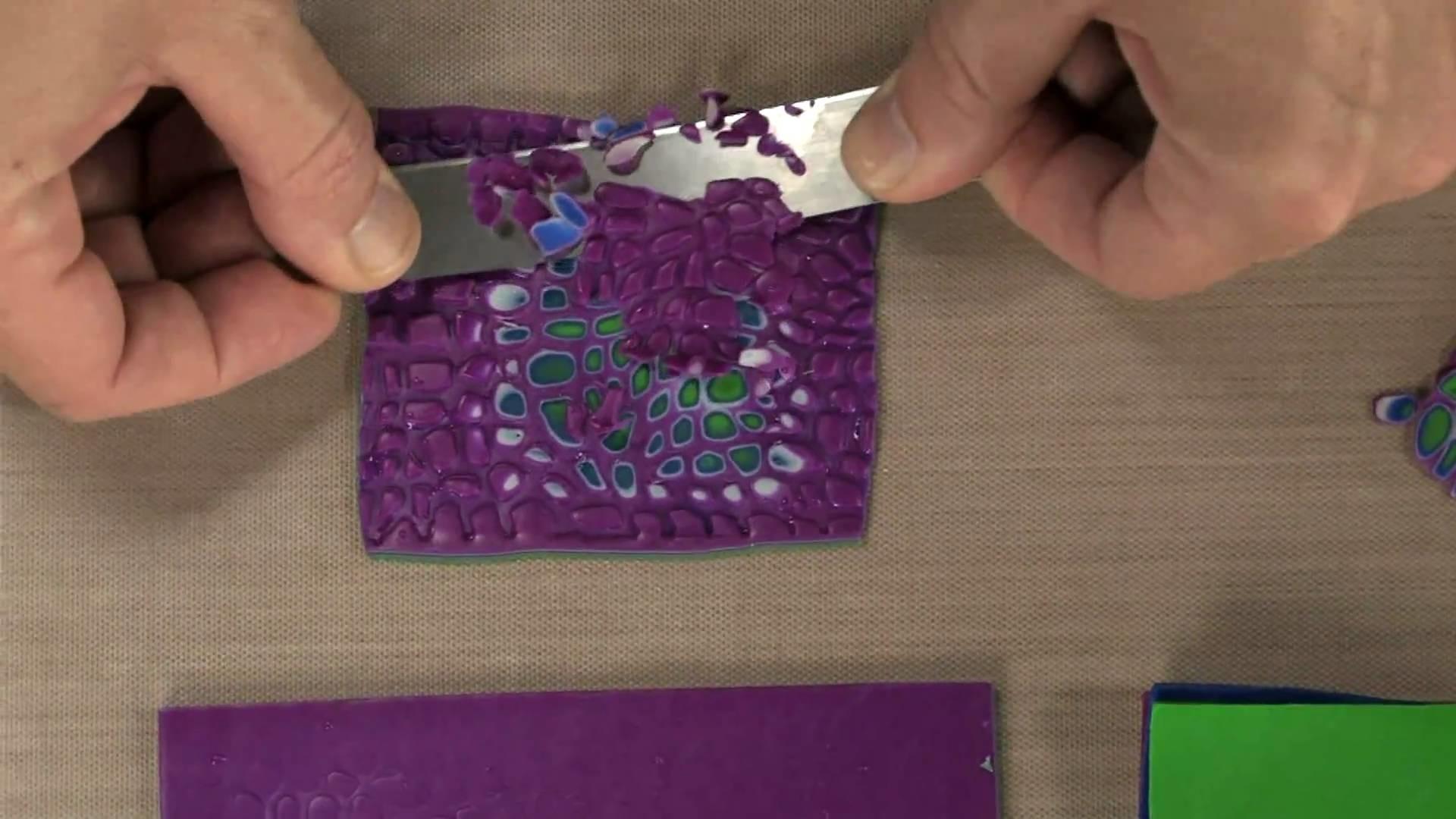 Sculpey Polymer Clay - the Mokume Gane Technique