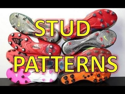 Soccer Shoe Stud Patterns - Question of the Week