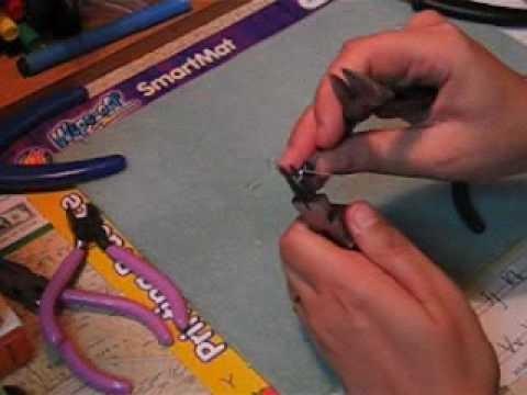 Tear Drop Earrings - How To Video - Jewelry Making Tutorial