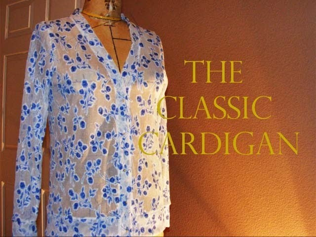 The Classic Cardigan | Time Lapse Tutorial #3