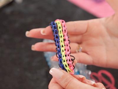 Triple Rainbow Loom Bracelet | Bracelet Patterns