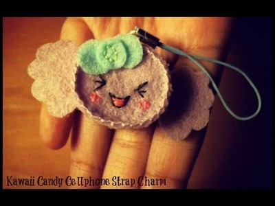 Christmas Gift Ideas : Kawaii Candy Cellphone Charm Plush Tutorial
