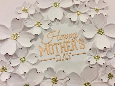 Elegant Mother's Day Card Tutorial - Diemond Dies DTP