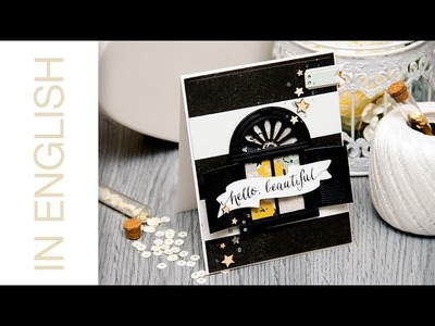 Hello Beautiful - A Shuttered Window Card. Card A Month #13