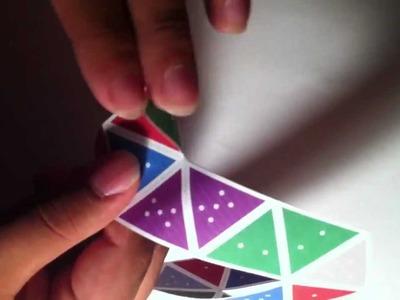 How to Create a Hexaflexagon
