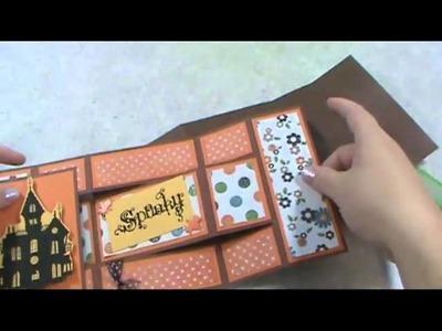 How to create a tri-shutter card