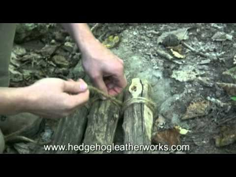 How to Lash a Tripod for Wilderness Survival