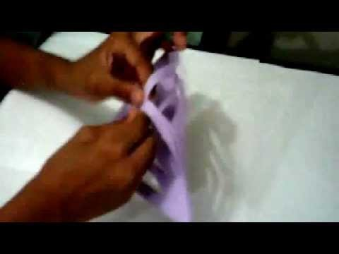 How to make a parol out of paper