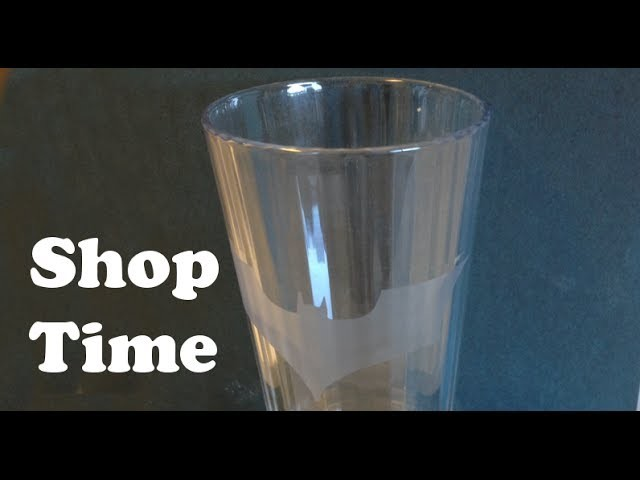 How To Make An Etched Pint Glass