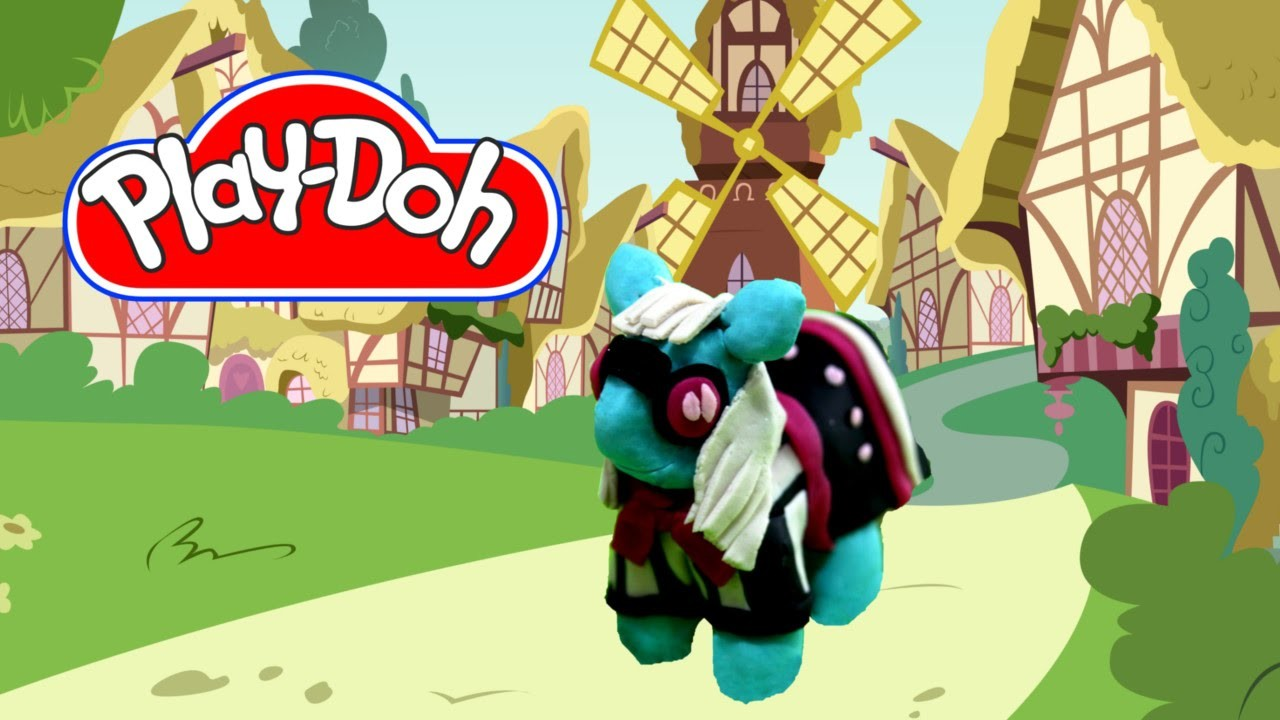 How to make Play Doh Photo Finish My Little Pony