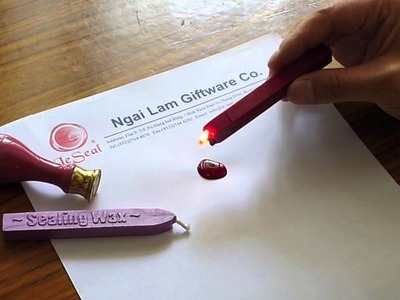 How to use our sealing wax