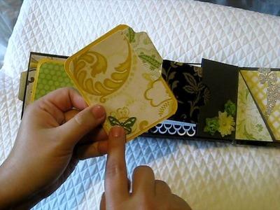 Mini Album - Lemon Flower (DCWV)