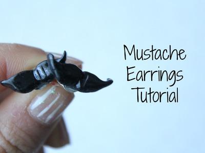 Mustache Earrings Tutorial!