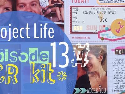 Project life : Process Video using Creative Retreat Kit