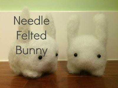 Simple Bunny: Needle Felt Tutorial