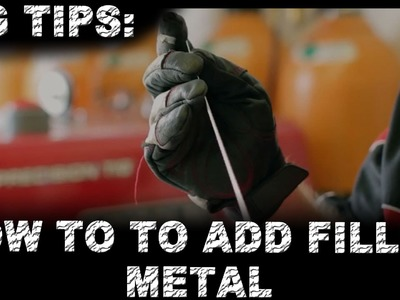 TIG Tip: How to Feed TIG Wire | TIG Time