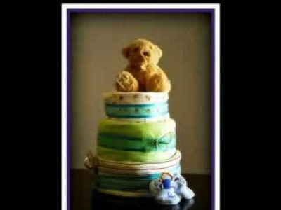 Baby Shower Gift ideas-  Sweet Moments Nappy Cakes