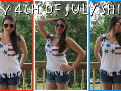 ✳ DIY 4th Of July Shirt! ✳