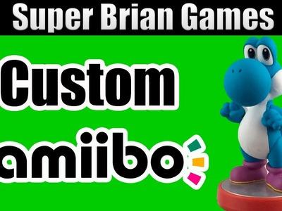 DIY Custom Nintendo Yoshi Amiibo Tutorial Fan Made