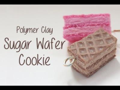 Easy Polymer Clay Sugar Wafer Cookie Tutorial