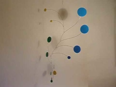 "Hanging Art Mobile ""Silhouette"" by Julie Frith"