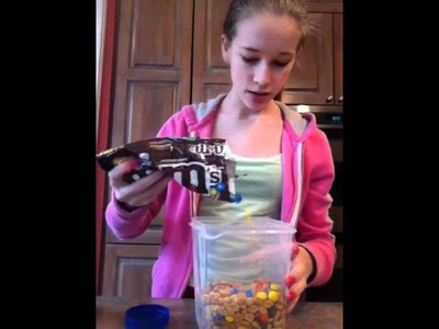 Healthy snack- homemade trail mix
