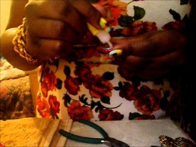 How 2 Make Button Earrings
