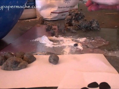 How 2 Make Paper Pulp Dog Paws