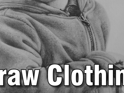 How to draw clothing in pencil