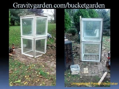 How to Make a Free Stacked Greenhouse in 60 minutes