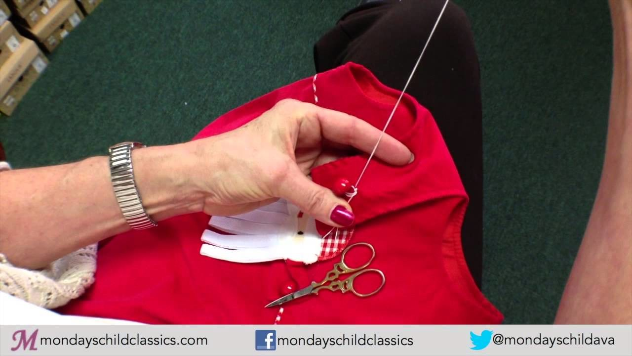 How to Sew on a Shank Button