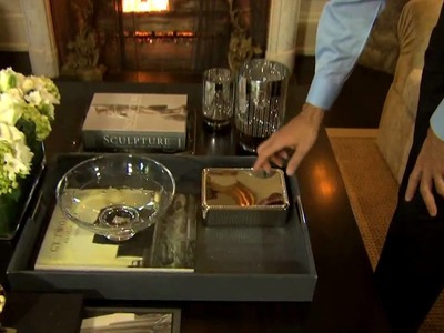 How to Style Your Coffee Table - Part 3