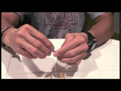 How To Tie a Coup Feather