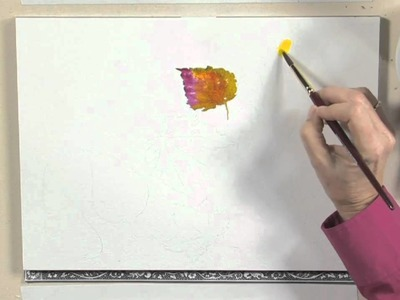 Mixing Paint on Paper