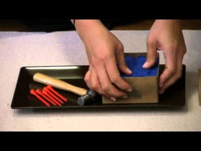 Montessori Practical Life Lesson - Uses For A Golf Tee