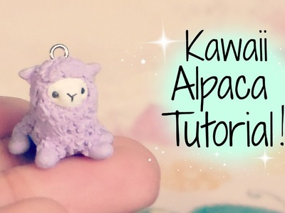 Polymer clay alpaca tutorial!!! ^o^