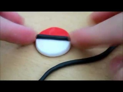 Polymer Clay Tutorial : Pokeball 2D