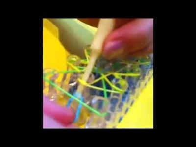 Rapunzel's Braid Rainbow loom bracelet part 2